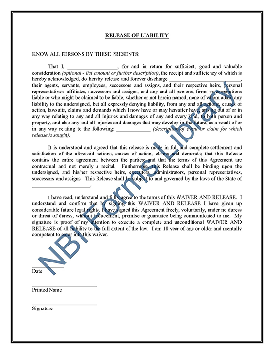 legal forms document
